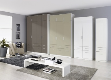 Celle full wardrobe range 197cm high
