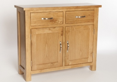 York oak small sideboard