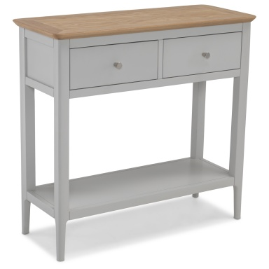 Shaker painted console table