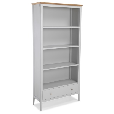 Shaker painted large bookcase