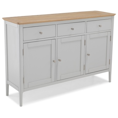 Shaker painted large sideboard