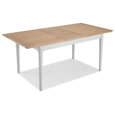Shaker painted extending dining table