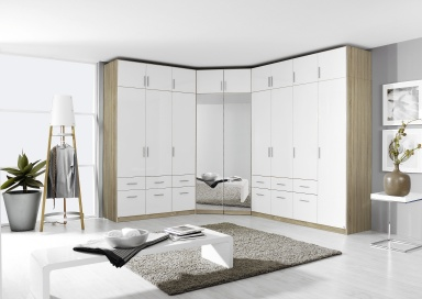 Celle full wardrobe range 210cm high