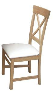 Eva padded dining chair
