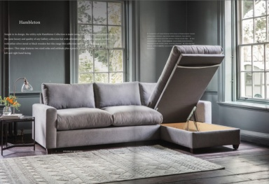 Hambleton chaise sofabed