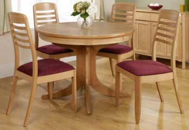 Nathan circular dining tables