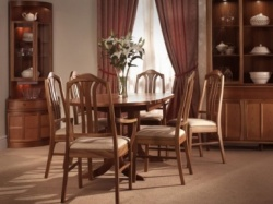 Nathan oval dining tables