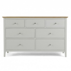 Shaker painted 7 drawer chest