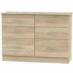 Avon 6 drawer midi chest