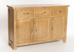 York oak large sideboard