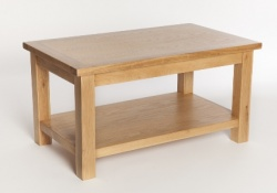 York oak coffee table
