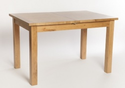 York oak 120cm extending table