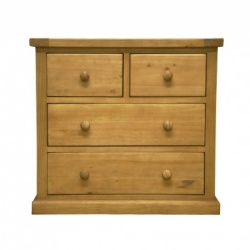 Country pine 2 over 2 chest
