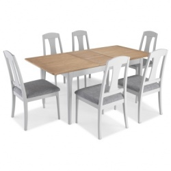 Shaker painted extending dining sets