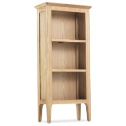 Shaker oak CD bookcase