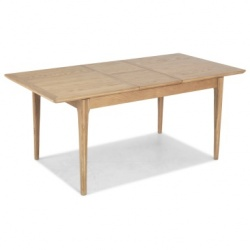 Shaker oak extending dining tables