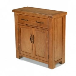Farmhouse oak small petite sideboard