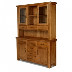 Farmhouse oak large dresser