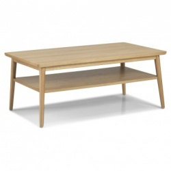 Scandi oak large coffee table