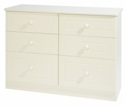 Warwick 6 drawer midi chest