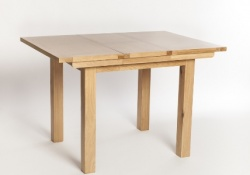 York oak 80cm extending table