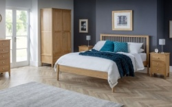 Cotswold solid oak bedframe