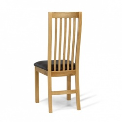 Moda oak dining chair