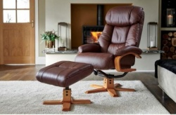 Nice swivel recliner