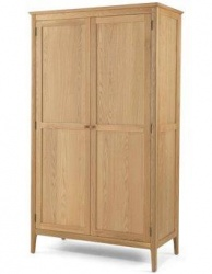 Shaker oak full hanging robe